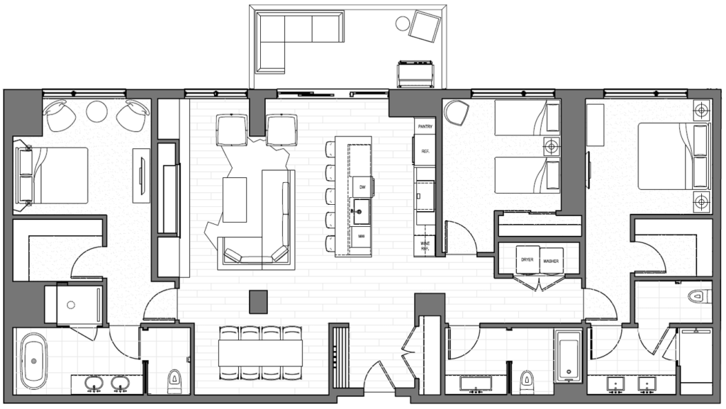 303 East Floorplan